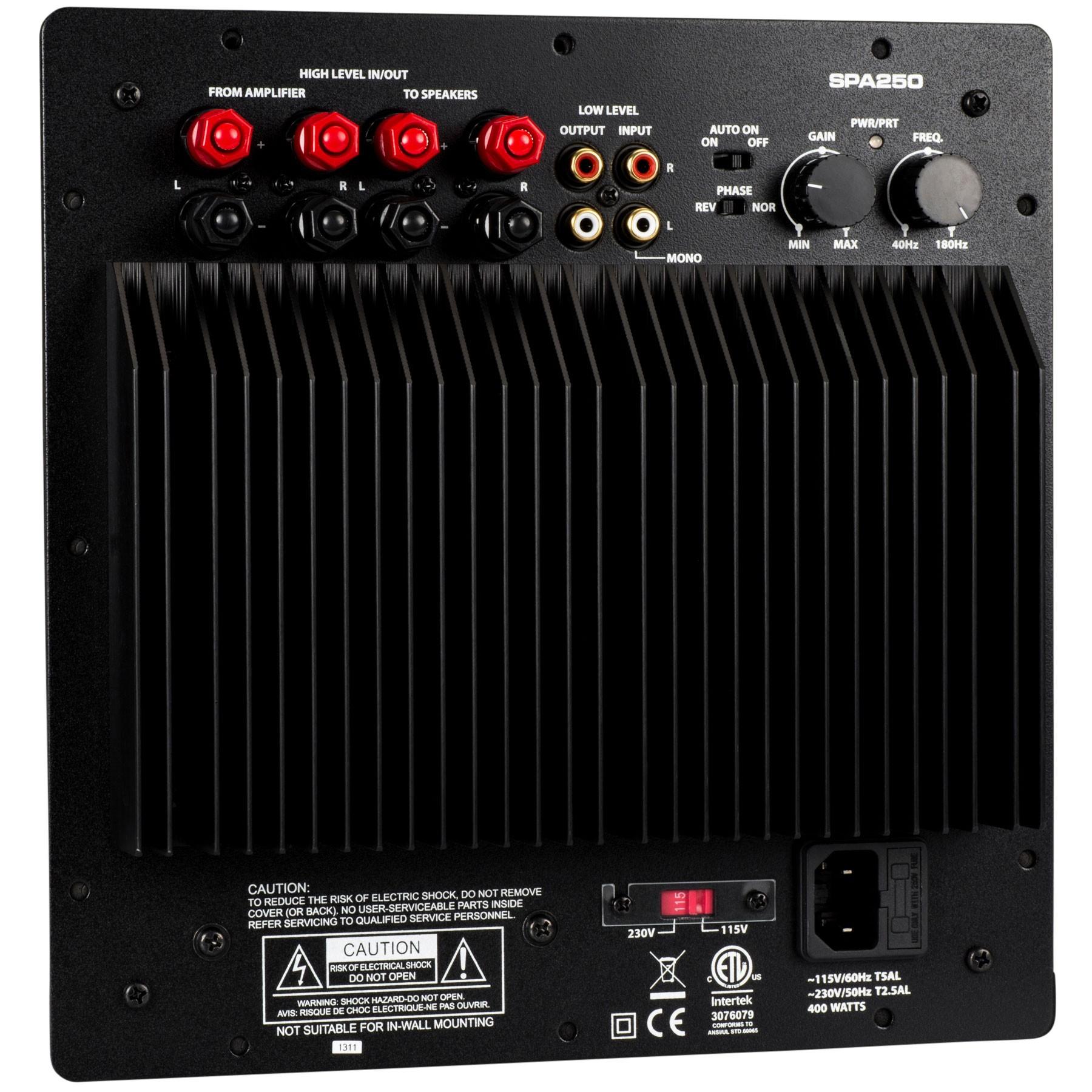 Audio Lab Of Ga Panel Tda1562q 36 Watt Power Amplifier Circuit And Explanation